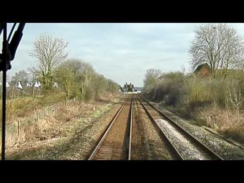 Class 150 Bletchley to Bedford cab ride 17/02/17