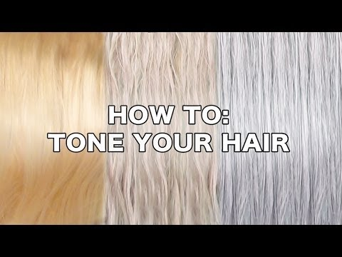 How To Tone Hair By Tashaleelyn Youtube