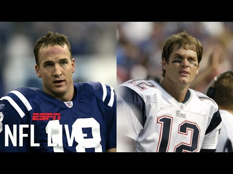 '07 Brady or '04 Manning: Who Had The Better Season? | NFL Live | ESPN