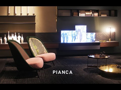 Pianca salone del mobile 2017 youtube for Fiera mobile 2017