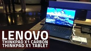 Lenovo ThinkPad X1 Carbon, ThinkPad X1 Tablet First Look