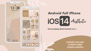 iOS 14 Aesthetic theme For Android screenshot 2