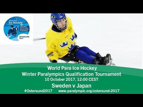 Sweden v Japan    PyeongChang 2018 Qualification Tournament   Ostersund