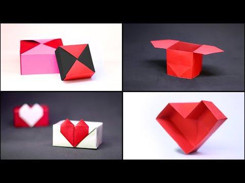 Flap Box Tutorial | Paper box diy, Diy paper, Paper crafts | 360x480