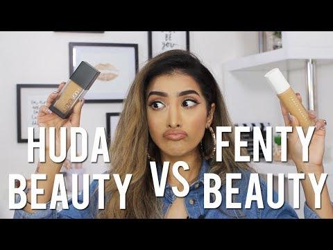 Huda vs Fenty Foundation