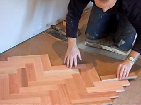 Steve Coleman Laying Parquetry Flooring Youtube