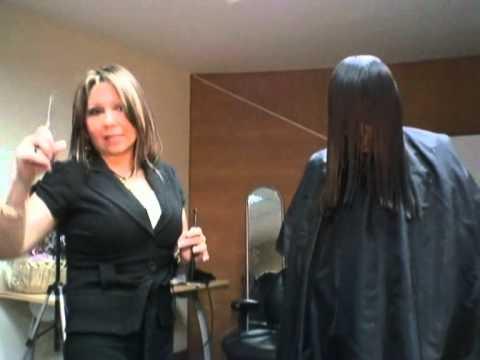 Cortes de cabello de dama videos