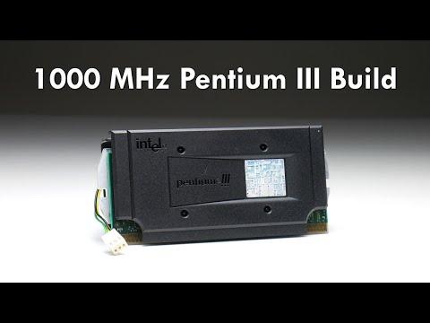 1000 MHz Pentium III Windows 98 Retro Gaming PC Build