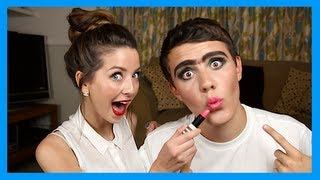 Zoella Does My Make Up