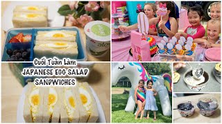 Cuối Tuần Làm JAPANESE EGG SALAD SANDWICHES ♥ Ăn Thử Cao Quy Linh ♥ Đi Sinh Nhật Bạn | mattalehang