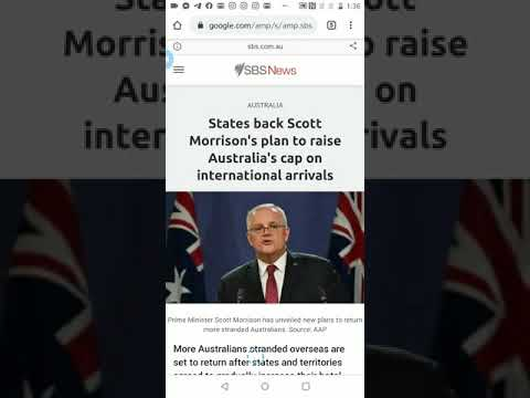 Latest Updates For International Borders - Plan To Raise Australia Cap On International Arrivals