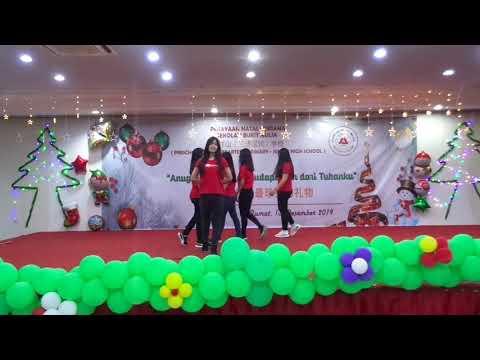 Perayaan Natal Sekolah Bukit Mullia 2019 - Dance SMP