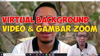 Cara Menggunakan Virtual Background Video Dan Gambar Pada Zoom Meeting Youtube