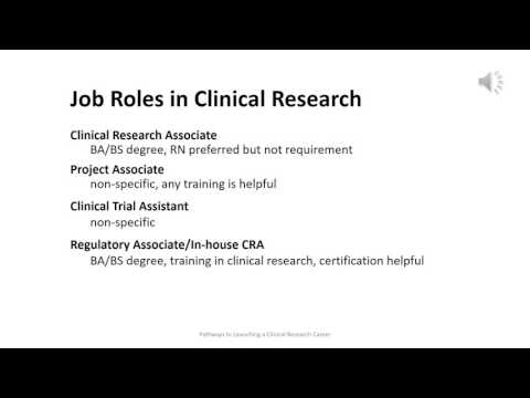 Week 3 Job Roles in Clinical Research