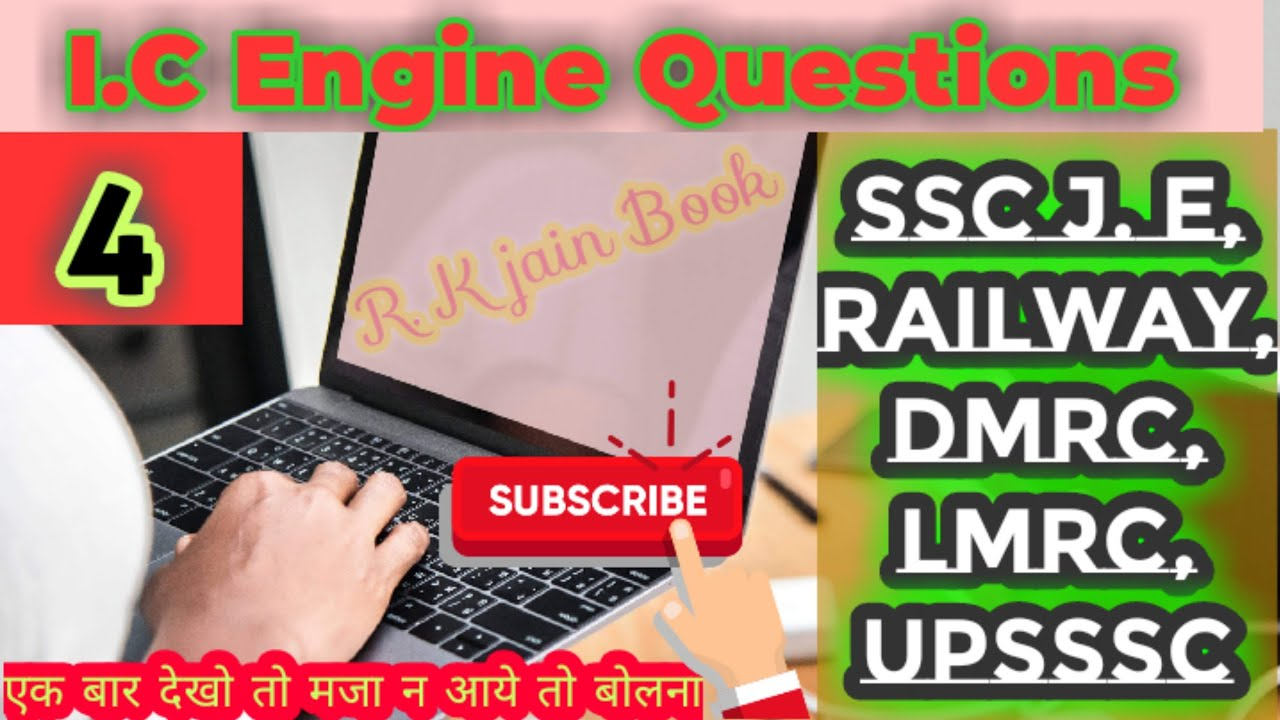 Download Diesel mechanic I.C engine most important 15 questions from R. K jain