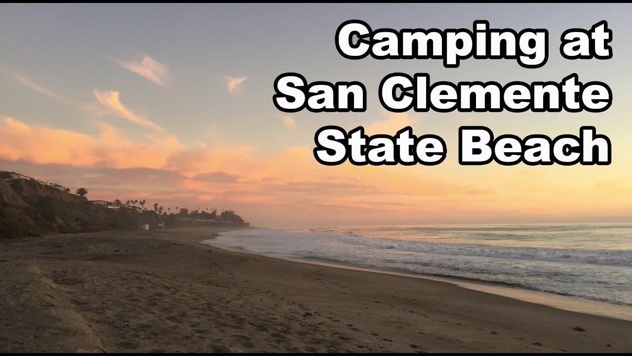San Clemente State Beach California Camping