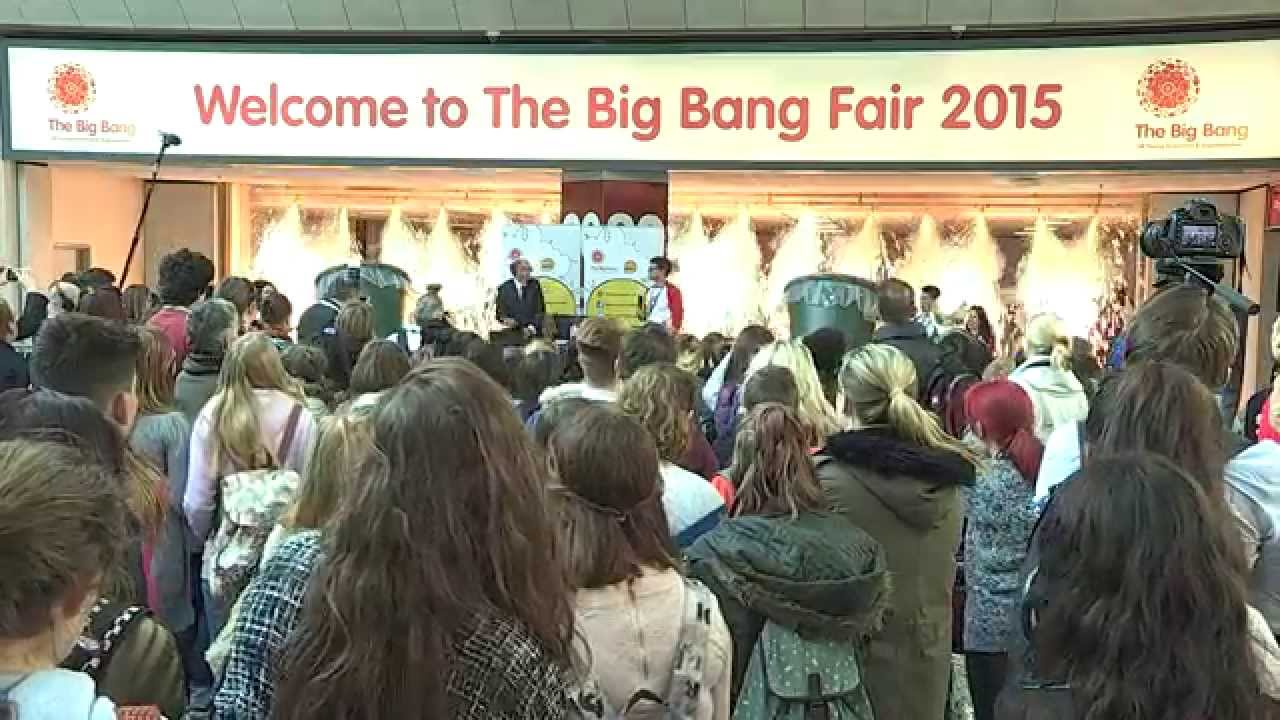 Business Sponsorship Of The Big Bang Fair In 2016 Youtube