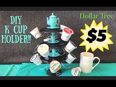 Dollar Tree DIY K Cup Holder #1: hqdefault