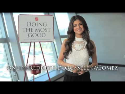 Win a Chance to Meet Selena Gomez and Help The Salvation Army