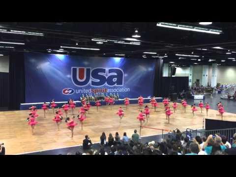 Aliso Niguel High School Dance Team - Pom (Nationals 2016)