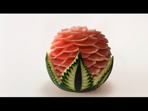 Thumbnail: Watermelon Carved Model 3 By J Pereira Art Carving