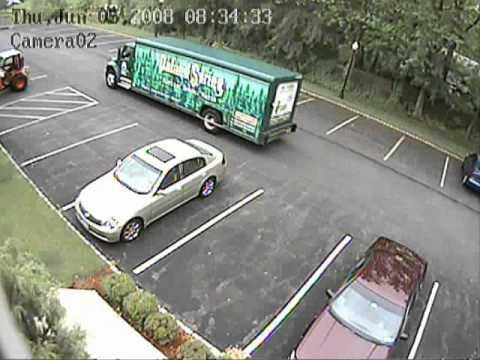 faps pc dvr cctv security surveillance camera video of parking lot overview youtube. Black Bedroom Furniture Sets. Home Design Ideas