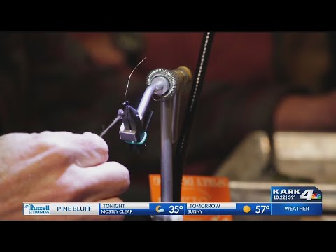 Digital Original: Arkansas Fly Fishers' Club Holds 'fly Tying' Event