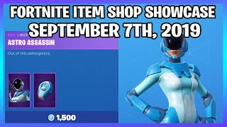 *NEW* ASTRO ASSASSIN SKIN! (Fortnite Item Shop 7th September)