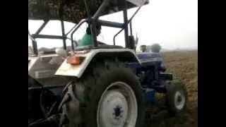 farmtrac 60   (7 foot rotaviter)  somal farm