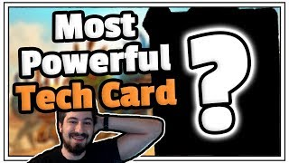 Most Powerful Tech Card Unleashed - Hearthstone