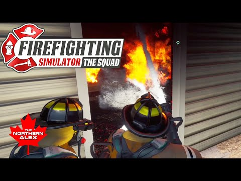 Firefighting Simulator - The Squad | Fighting fires with AcePilot2K7 Part 1 |