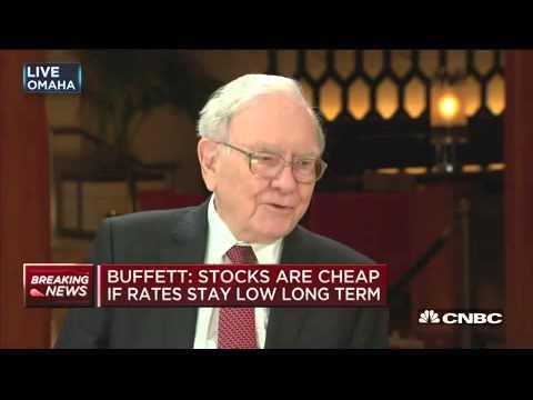 Warren Buffett on Interest Rates & Valuations