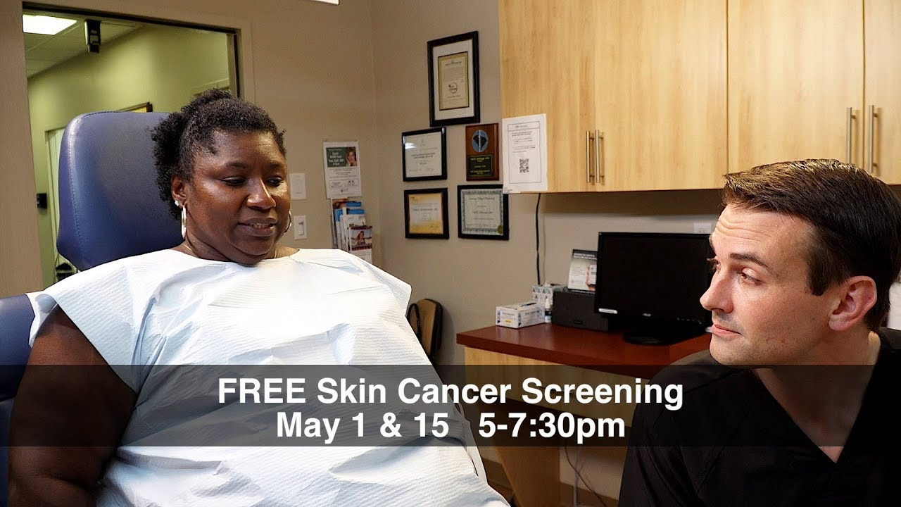 Prevent Skin Cancer: Free Skin Cancer Screening May 1 & 15