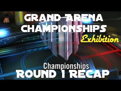 Grand Arena Championships (Exhibition) Round 1 Recap || Star Wars Galaxy of  Heroes SWGOH