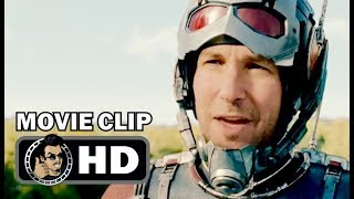 ANT-MAN Movie Clip - Fighting The Falcon (2015) Paul Rudd Marvel Superhero Movie HD