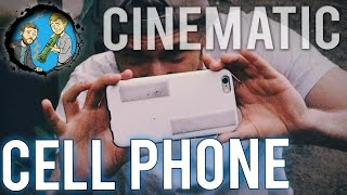 How To Get Cinematic on a Cell Phone(You don't need an expensive camera to get cinematic shots. Check out these techniques to help you get movie-like shots on your cell-phone. You don't always ..., 2015-05-04T12:00:05.000Z)