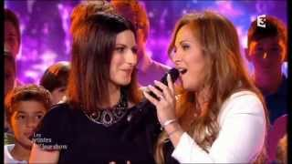 LAURA PAUSINI & HELENE SEGARA - FRANCE TV 2013 (Complete Version)