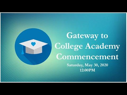 Gateway to College Academy at SRJC Petaluma Class of 2020 Commencement Presentation