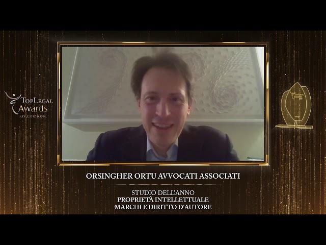 Fabrizio Sanna, Orsingher Ortu Avvocati Associati - TopLegal Awards 2020