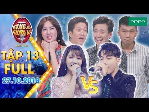 Giọng ải giọng ai 3|Tập 13 full: Ninh Dương Lan Ngọc đòi làm ca sĩ chính để song ca với thí sinh