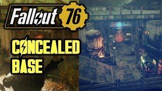 Fallout 76 - Concealed Bridge Base