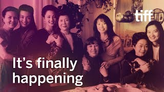 Before CRAZY RICH ASIANS there was THE JOY LUCK CLUB   TIFF 2019
