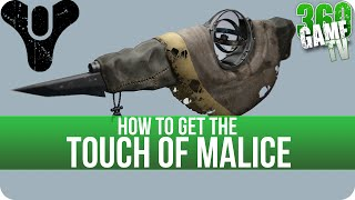 Destiny How to get the Touch of Malice (Exotic Scout Rifle) - Hunger Pangs Achievement / Trophy