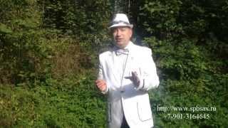Ведущий-саксофонист на юбилей или свадьбу в СПб