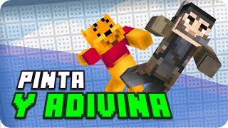 ¡Pinta y Adivina! Puntito Edition | Minecraft