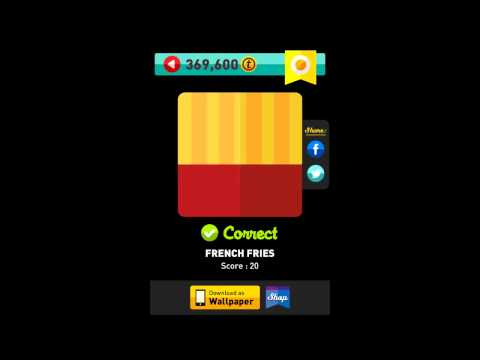 Icon Pop Quiz - Weekend Specials Foods Answers