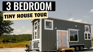 Gorgeous Three Bedroom Tiny Home - Craftsman Line By Incredible Tiny Homes