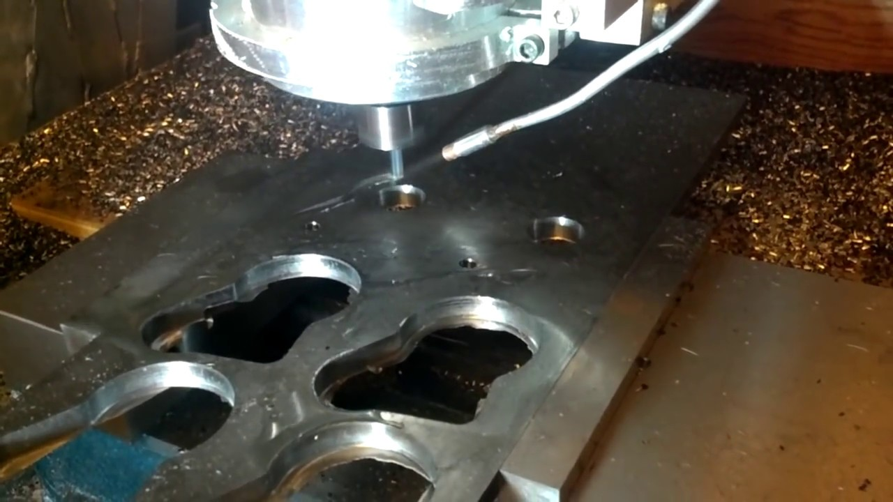 Diy Cnc Router Cuts Steel For Fsae Youtube