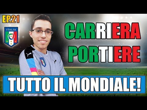 TUTTO IL MONDIALE CON L'ITALIA IN UN UNICO VIDEO!! | FIFA 17: CARRIERA PORTIERE #21 [By Giuse360]