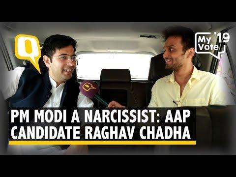 PM Modi is a Narcissist: AAP's South Delhi Candidate Raghav Chadha   The Quint